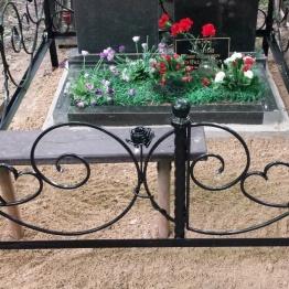 Фото ограда с розами